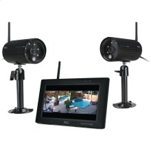 """ObserverHD 1080p Full HD 4-Channel 7"""" Touchscreen Monitor with 2 Cameras"""