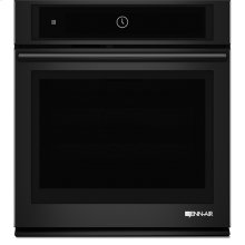"27"" Single Wall Oven with MultiMode® Convection System, Black Floating Glass w/Handle"