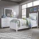 Full Panel Bed, Dresser & Mirror Product Image