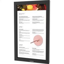 """32"""" Pro Series Outdoor Digital Signage Full Sun and Active Areas Touch Screen Portrait Orientation - DS-3211MTP-BL"""
