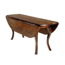 Oval Dropleaf Table