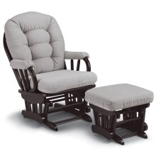SONA Glider Rocker AND Gliding Ottoman **2 PIECE SET!**