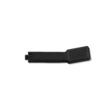 Square Single-Function Hand Shower - Black