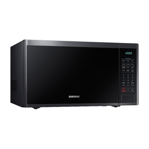 1.4 cu. ft. Countertop Microwave with Sensor Cooking in Fingerprint Resistant Black Stainless Steel