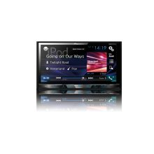 """Multimedia DVD Receiver with 7"""" WVGA Display, MIXTRAX , Built-in Bluetooth ® , SiriusXM-Ready"""