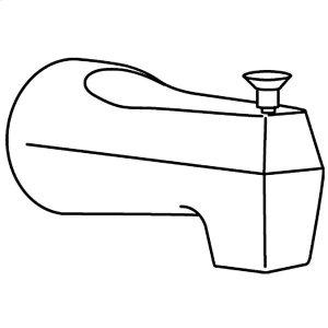 Moen brushed chrome diverter spouts Product Image