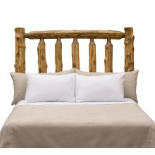 Traditional Headboard - King - Natural Cedar