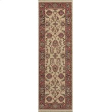 Ashara Agra Ivory Runner 2ft 6in x 8ft
