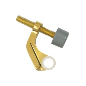 Hinge Pin Stop, Hinge Mounted for Brass Hinges - PVD Polished Brass Product Image