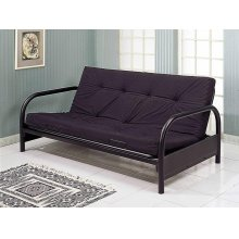 Black Full Size Futon Frame