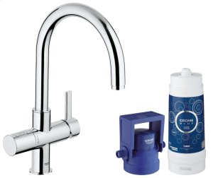 GROHE Blue Pure Kitchen Faucet Starter Kit Product Image