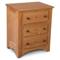 Royal Mission Nightstand with Drawers Product Image