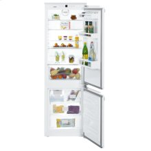 "24"" Integrated fridge-freezer combination with BioCool and NoFrost"