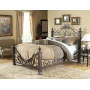 Baroque Bed - Available in Queen Size, King Size, and Cal King Size. Product Image
