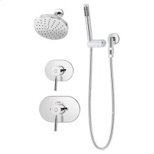 Symmons Sereno® Shower/Hand Shower System - Polished Chrome