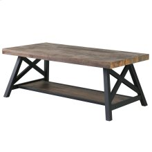 Langport Coffee Table in Rustic Oak