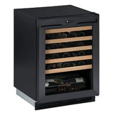 "Black Field reversible 1000 Series / 24"" Wine Captain® / Signature Triple Temperature Zone Design"