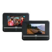 "Twin Mobile DVD System with 7"" Screens"