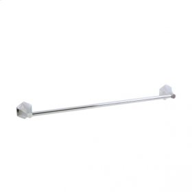 Hexa - Towel Bar - Polished Chrome