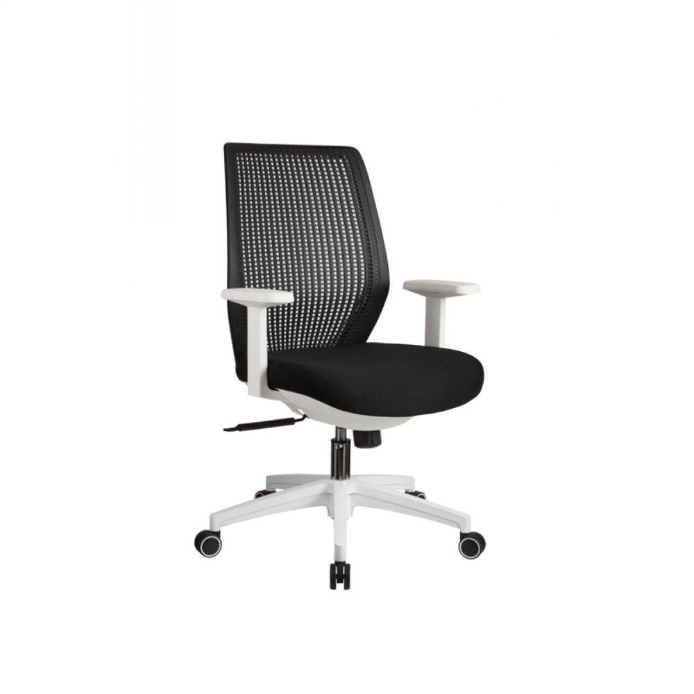 Modrest Bayer Modern Black & White Office Chair