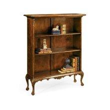 Low Mahogany Bookcase