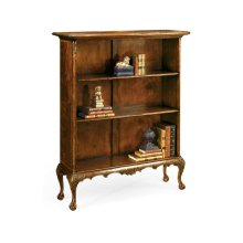 Low Mahogany Bookcase