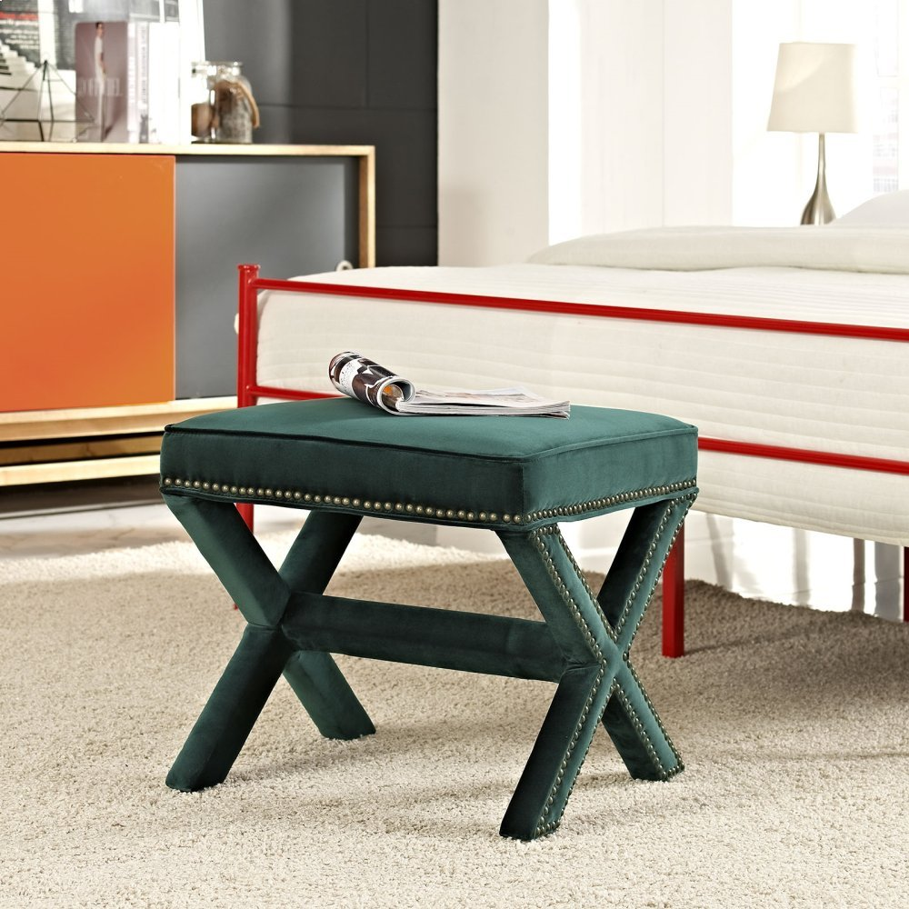 Rivet Bench in Green