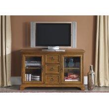 TV Console - 54 Inch - Oak