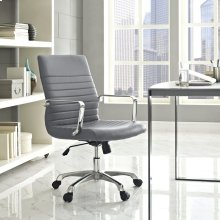 Finesse Mid Back Office Chair in Gray