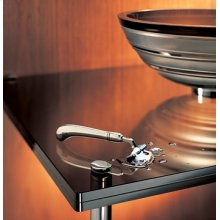 Freestanding Small Round Sink