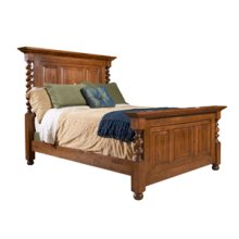 Tall English Country Bed