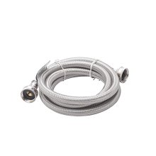 Smart Choice 6' Stainless Steel Drain Hose