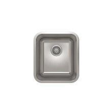 ProInox E200 Single Bowl Undermont Kitchen Sink ProInox E200 18-gauge Stainless Steel, 14'' x 16'' x 9''