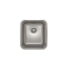ProInox E200 Single Bowl Undermont Kitchen Sink ProInox E200 18-gauge Stainless Steel, 14'' x 16'' x 9''