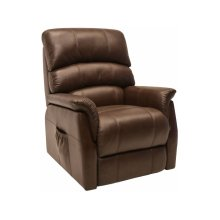 Power Lift Recliner in Derby-Brown