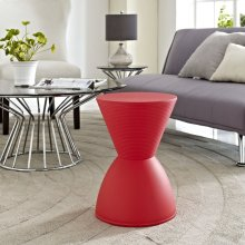 Haste Stool in Red