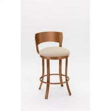 Baltimore Copper Stainless Steel Bar Stool