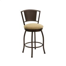 Berkeley B508H26S Swivel Back No Arms Bar Stool