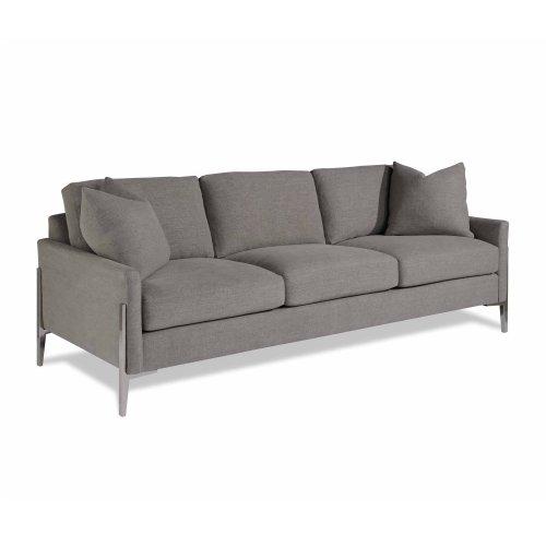 Gemma Nickel Sofa