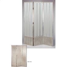 "3-Panel Mirrored Screen 19x80""x3pls"