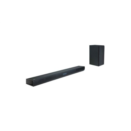 LG SK4D 2.1 Channel 300W Sound Bar with Wireless Subwoofer and Bluetooth® Connectivity
