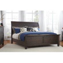 Trudell - Dark Brown 3 Piece Bed Set (Queen)