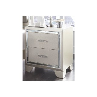 Lonnix Two Drawer Night Stand