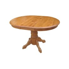 "36"" Round Table Top With 1-12"" Leaf"