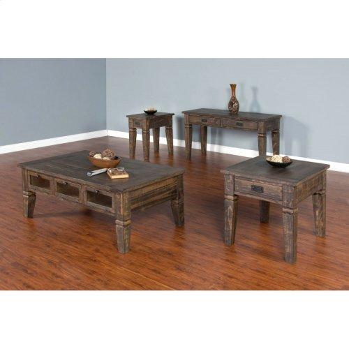 "Homestead Coffee Table Dimensions: 50"" X 30"" X 20""h"