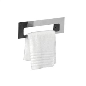 Aeri right side towel bar with mirror finish. Product Image