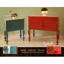 Rochelle Red Console