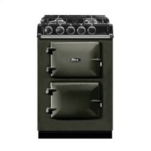 "AGA City 24"" Electric/Natural Gas Pewter with Stainless Steel trim"