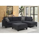 Ponderay Sectional with Ottoman, U4607 Product Image