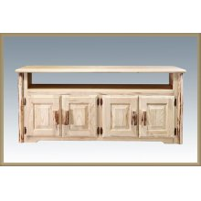 Montana Log Television Stand